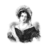 The Duchess of Kent, Marie Victoria, (1786-186), 1900 Giclee Print