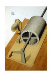 Thomas Alva Edison's First Phonograph, 1878 Giclee Print