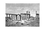 A Ruined Colonnade at Palmyra (Tadmu), Syria, 1895 Giclee Print