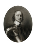 Oliver Cromwell, English Military Leader and Politician Giclee Print by Robert Walker