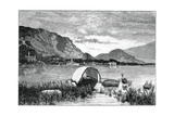 Baveno, on Lake Maggiore, Northern Italy, 1900 Giclee Print