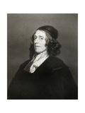 John Owen, English Theologian, 17th Century Giclee Print by Robert Walker