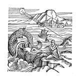 Jonah Being Spewed Up by the Whale, 1557 Giclee Print