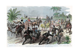 Return of a Foraging Party to Baton Rouge, Louisiana, American Civil War, C1862 Giclee Print by JH Schell