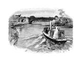 The Albert Bridge, Windsor, Berkshire Giclee Print
