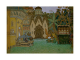 Stage Design for the Opera the Legend of the Invisible City of Kitezh and the Maiden Fevronia, 1907 Giclee Print by Appolinari Mikhaylovich Vasnetsov