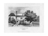 Alexander Pope's House, Binfield, Berkshire, Mid 19th Century Giclee Print