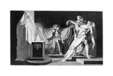 Saul and the Witch of Endor, 1792 Giclee Print by Henry Fuseli