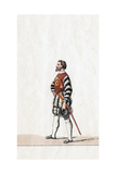 Baron, Costume Design for Shakespeare's Play, Henry VIII, 19th Century Giclee Print