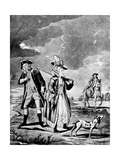The Sporting Lady, 1776 Giclee Print by John Collet