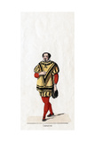 Capucius, Costume Design for Shakespeare's Play, Henry VIII, 19th Century Giclee Print
