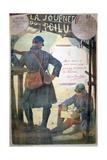 Journée Du Poilu 25 Et 26 Décembre 1915, French World War I Poster, 1915 Giclee Print