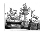 The Ascot Prize Plate, 1875 Giclee Print
