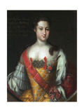 Anna Leopoldovna, Grand Duchess and Regent of Russia, (1718-174), 1732 Giclee Print by Johann-Heinrich Wedekind