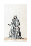 Patience, Costume Design for Shakespeare's Play, Henry VIII, 19th Century Giclee Print