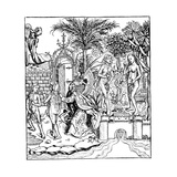 Adam and Eve, 1493 Giclee Print