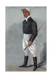 Fred Rickaby, English Jockey 1901 Giclee Print