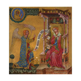 Annunciation of the Virgin Mary, C1350 Giclee Print