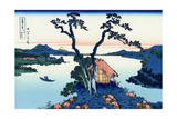 Lake Suwa in the Shinano Province, 1830-1833 Giclee Print by Katsushika Hokusai