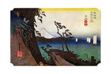 Yui, Satta Peak, 1830S Giclee Print by Ando Hiroshige