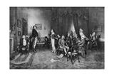 The Meeting of Burns and Scott, C1786 Giclee Print
