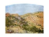Jerusalem, 1854-1855 Giclee Print by Thomas Seddon