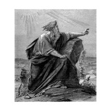 Moses, Old Testament Prophet, C1860 Giclee Print