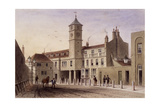View of Bridge House in Bridge Yard, Tooley Street, Bermondsey, London, 1846 Giclee Print by Thomas Hosmer Shepherd