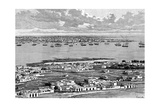 Montevideo, Uruguay, 1895 Giclee Print