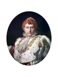 Napoleon I in His Coronation Robe, C1804 Giclee Print by Francois Pascal Simon Gerard