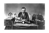 Guglielmo Marconi (1874-193), Italian Physicist and Radio Pioneer Giclee Print