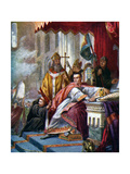 Coronation of William the Conqueror, 1925 Giclee Print by John Cross