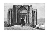 A Ruined 14th Century Mosque, Hamadan, Iran, 1895 Giclee Print