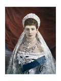 Princess Marie Sophie Frederikke Dagmar, Dowager Empress of Russia, Late 19th-Early 20th Century Giclee Print