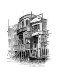 The Grapes Public House, Limehouse, London, 1887 Giclee Print