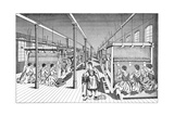 Women Workers in a Carpet Factory, C1895 Giclee Print