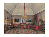 Interiors of the Winter Palace, the Fifth Reserved Apartment, 1874 Giclee Print by Eduard Hau
