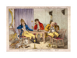 Night, Part IV of Cockneys Contemplating on the Exploits of the Day, 1800 Giclee Print by Charles Ansell