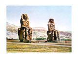 The Colossi of Memnon, Egypt, 20th Century Giclee Print