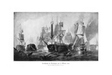 Battle of Trafalgar, 21 October 1805 Giclee Print by Clarkson Stanfield