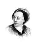 Alexander Pope, English Poet of the Early Eighteenth Century Giclee Print