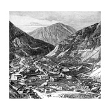 The Lima-Oroya Railway, Peru, 1895 Giclee Print