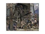 The Catapult, C1868 Giclee Print by Edward John Poynter