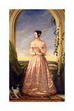 Grand Duchess Alexandra Nikolaevna of Russia, (1825-184), 1840 Giclee Print by Christina Robertson