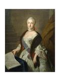 Catherine II as Grand Duchess Ekaterina Alekseyevna, 1762 Giclee Print by Ivan Petrovich Argunov
