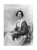 Catherine Gladstone, Wife of William Ewart Gladstone Giclee Print by George Richmond