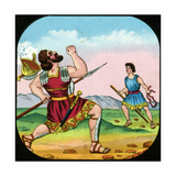 David Killing Goliath Giclee Print