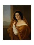 Portrait of Princess Yevdokia (Avdoty) Ivanovna Golitsyna, Née Izmaylova (1794-189), 1810S Giclee Print by Alexei Yegorovich Yegorov