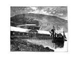 Queen Victoria Opening Glasgow Waterworks at Loch Katrine, Scotland, 1859 Giclee Print