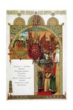 Menu, 1883 Giclee Print by Viktor Mikhaylovich Vasnetsov